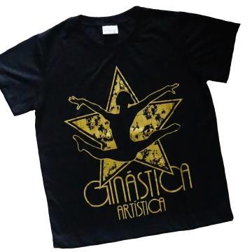 Camiseta Estrela Ouro - Adulto