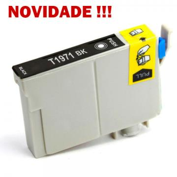 CART.  COMPATIVEL EPSON T196/T197 PRETO 17ml