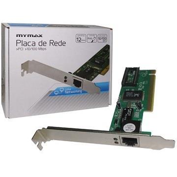 PLACA DE REDE 10/100 PCI MYMAX (CHIP REALTEK)