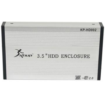 CASE P/ HD 3.5 SATA / USB 2.0 - CS02 / CS0025