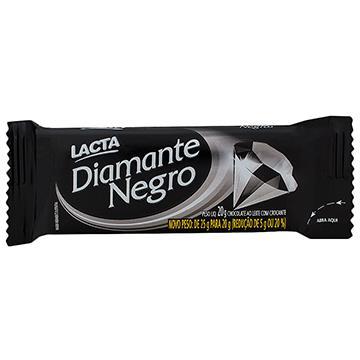 Chocolate Lacta Diamante Negro 20GR