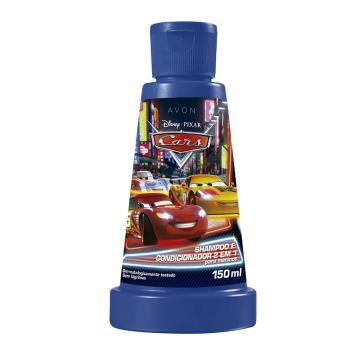 Cars Shampoo e Condicionador 2 em 1 para Meninos