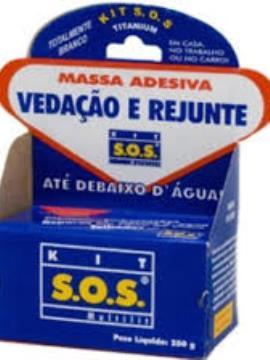 MASSA ADESIVA S.O.S 50 G