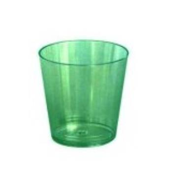 COPO CRISTAL MINI 25ML VERDE NEON