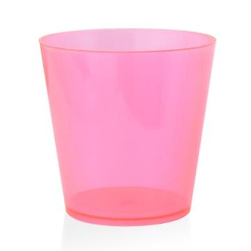 COPO CRISTAL MINI 25ML ROSA NEON