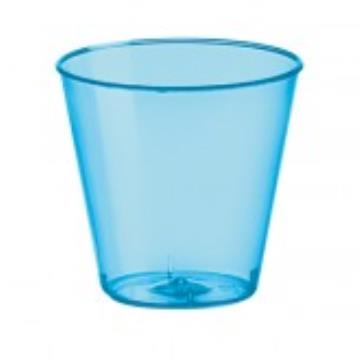 COPO CRISTAL MINI 25ML AZUL NEON
