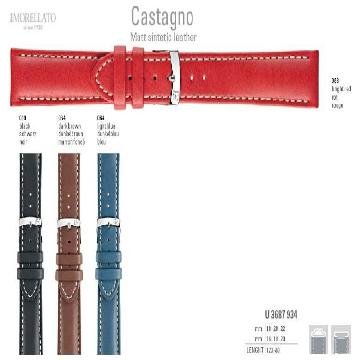 CASTAGNO PULSEIRA DE COURO U3687 934