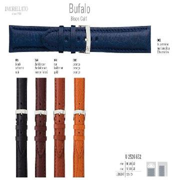 BUFALO BISON CALF PULSEIRA DE COURO U2526 652