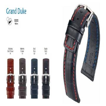 GRAND DUKE PULSEIRA DE COURO 025 28