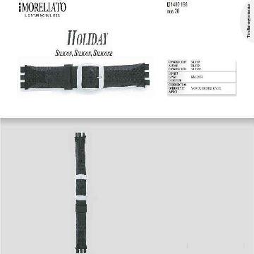 HOLIDAY PULSEIRA DE SILICONE U1480 198