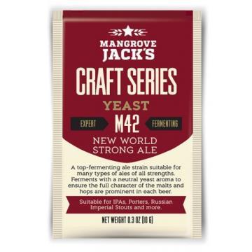 FERMENTO NEW WORLD STRONG ALE - MANGROVE JACKS M42 - 10g
