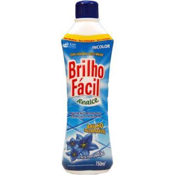 CERA BRILHO FACIL INCOLOR 750 ML (UND)
