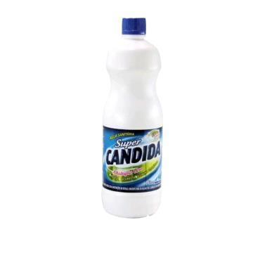 AGUA SANITARIA SUPER CANDIDA 1 LITRO *