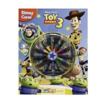 Livro Ilustrado Para Colorir Toy Story