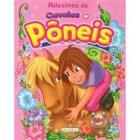 Livro de Adesivos Cavalos e Pôneis - Rosa
