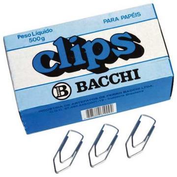 Clips Bacchi Galvanizado 8 / 0