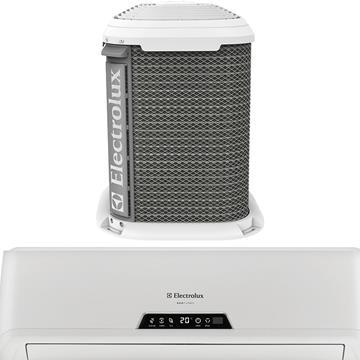 Kit Ar Condicionado Split VI09/VE09 9000BTUS Kit Interno + Externo Frio 220v (Emb. contém 1un.) - Electrolux