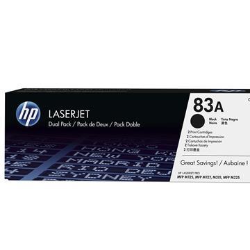 Toner CF283AD LaserJet , Dual Pack Preto (Emb. contém 1un.) - HP