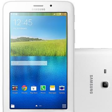 "Tablet Galaxy Tab E 7.0, T116BU 3G Tela 7"", Branco, Android 4.4, 8GB - Samsung"