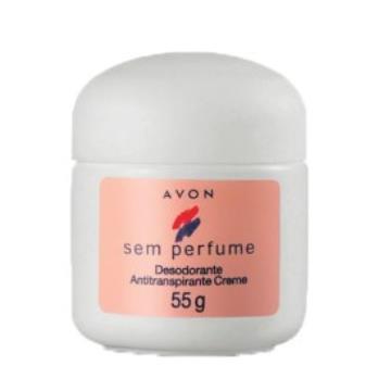 501128 Desodorante Creme Sem Perfume Avon 55g