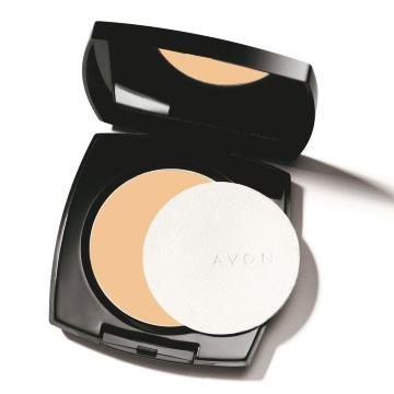 520452 Pó Compacta Ideal Face Bege Natural FPS 24 Regular Avon 11g