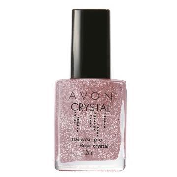 526183 Esmalte Crystal Rosa Avon 12ml