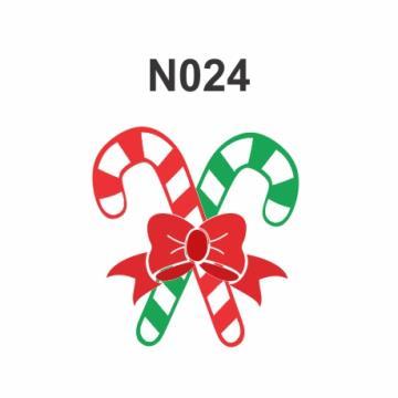 N024 - Molde PVC – Bengala de Natal