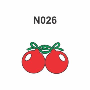 N026 - Molde PVC – Bolas de Natal