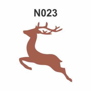 N023 - Molde PVC – Rena Silhueta
