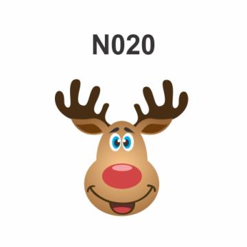 N020 - Molde PVC – Rena