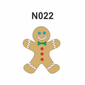 N022 - Molde PVC – Biscoito