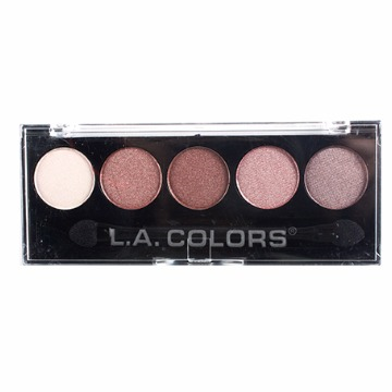 L.A. Colors Paleta de sombras 5 Cores - Wine Rose