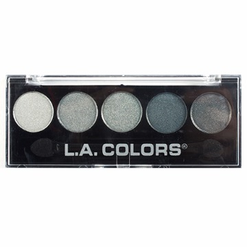 LA Colors Paleta de Sombras 5 Cores - Stormy