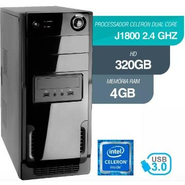 MICRO  CELERON DUAL CORE 2.4GHz 4GB RAM HD 320GB