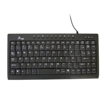 TECLADO  USB MULTIMIDIA (REDUZIDO) - TC01/TC0019S
