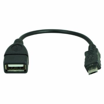 RABICHO USB FEMEA X MICRO USB (V8) OTG  - CB0053