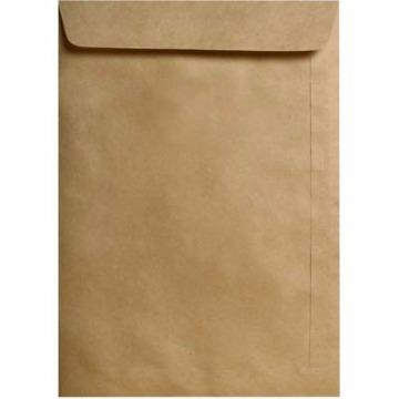 Envelope Saco Kraft Natural 229mm x 324mm