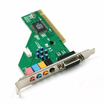 PLACA DE SOM 5.1 PCI 24BITS - PC0002