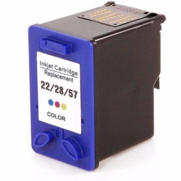 CART.  COMPATIVEL HP 22 / HP 28 / HP 57 COLOR 12ml -LS