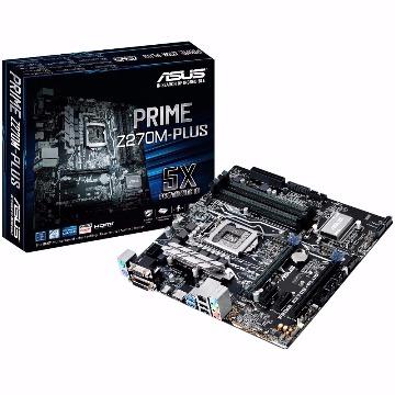PLACA MAE 1151 ASUS PRIME Z270M-PLUS/BR DDR4 7ª GER.