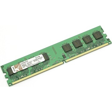 MEMORIA PC DDR2 2GB 800MHZ KINGSTON