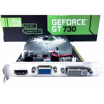 PLACA DE VIDEO GF GT 730 2GB DDR3 128BITS MYMAX