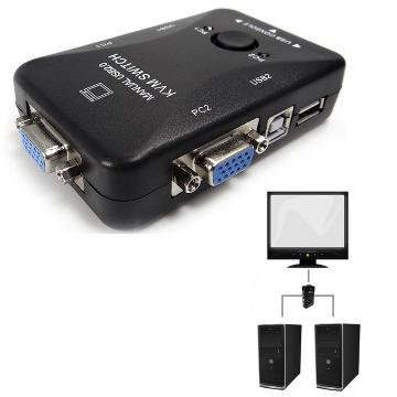 SWITCH KVM  2 PORTAS USB e  VGA - KV01/HUB0019