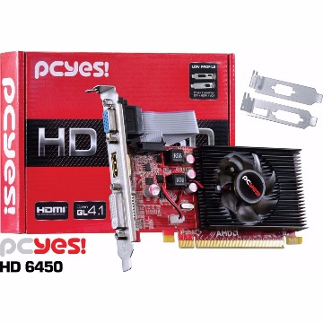 PLACA DE VIDEO  RADEON HD6450 2GB DDR3 64BITS PCYES