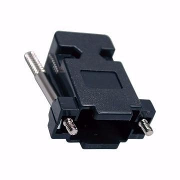 CAPA DB9/DB15 VGA COM TRAVA PRETO KIT LONGO - 284986