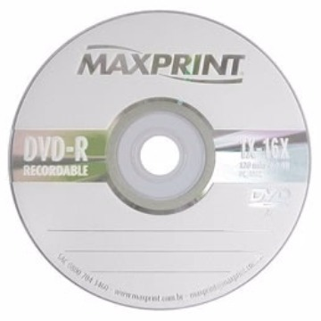 DVD 4.7GB 16X MAXPRINT (NO ENVELOPE)