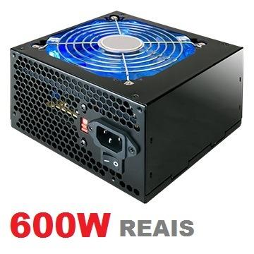 FONTE ATX  600W  MYMAX