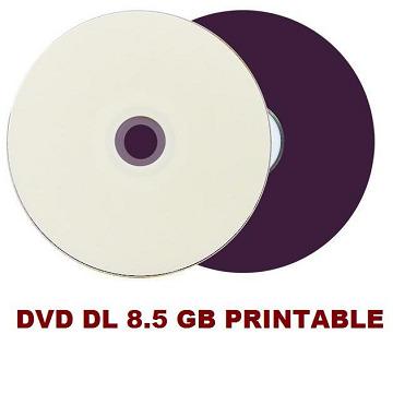 DVD DL 8.5GB MAXPRINT PRINTABLE (ENVELOPE)