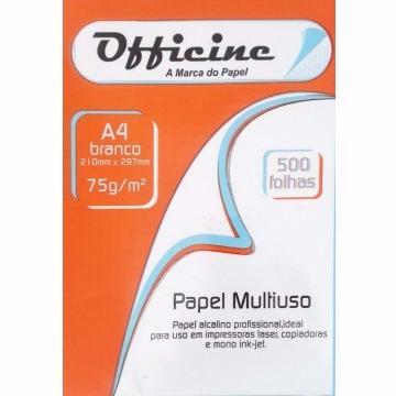 PAPEL SULFITE A4 75GR BRANCO OFFICINE C/ 500 FOLHAS
