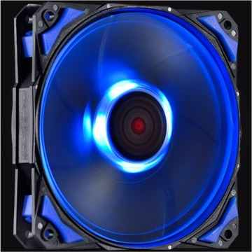 COOLER 12V 120MM FURY F4 LED AZUL - F4120LDAZ - PCYES